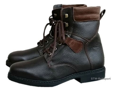 HoboShoes Winter Stiefelette HIGH SAVANNE braun
