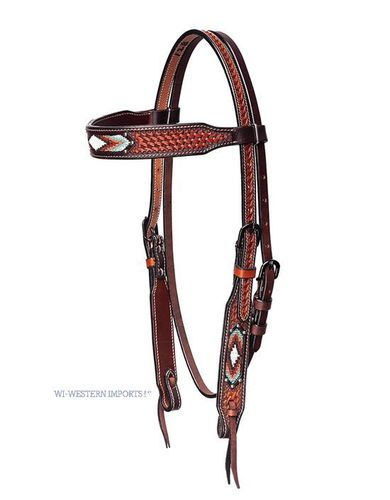 WI Westerntrense Beaded Inlay